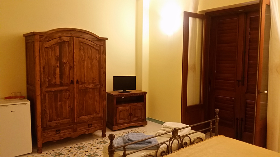 Room with hilly view